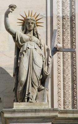 La Statua della Libertà... alla milanese!!