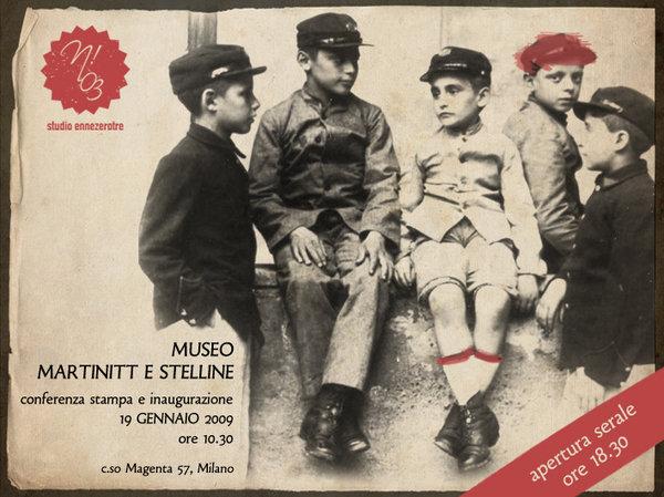 Manifesto per l'apertura del Museo dei Martinitt