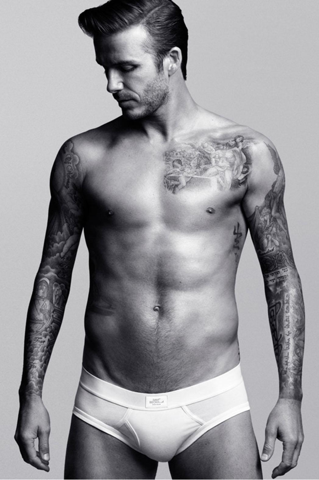David Beckam ovvero il trend dov'erano i peli oggi c'è un tatoo (photo Hollywoodreporter.com)