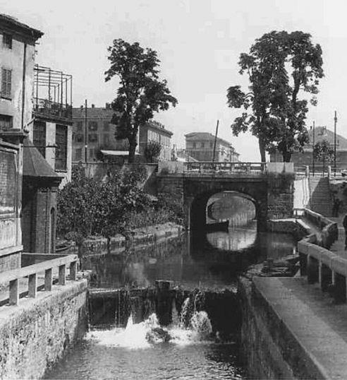 Naviglio_della_Martesana_La_conca_dellIncoronata1920