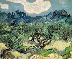 Campagne di Ulivi nella versione di Van Gogh