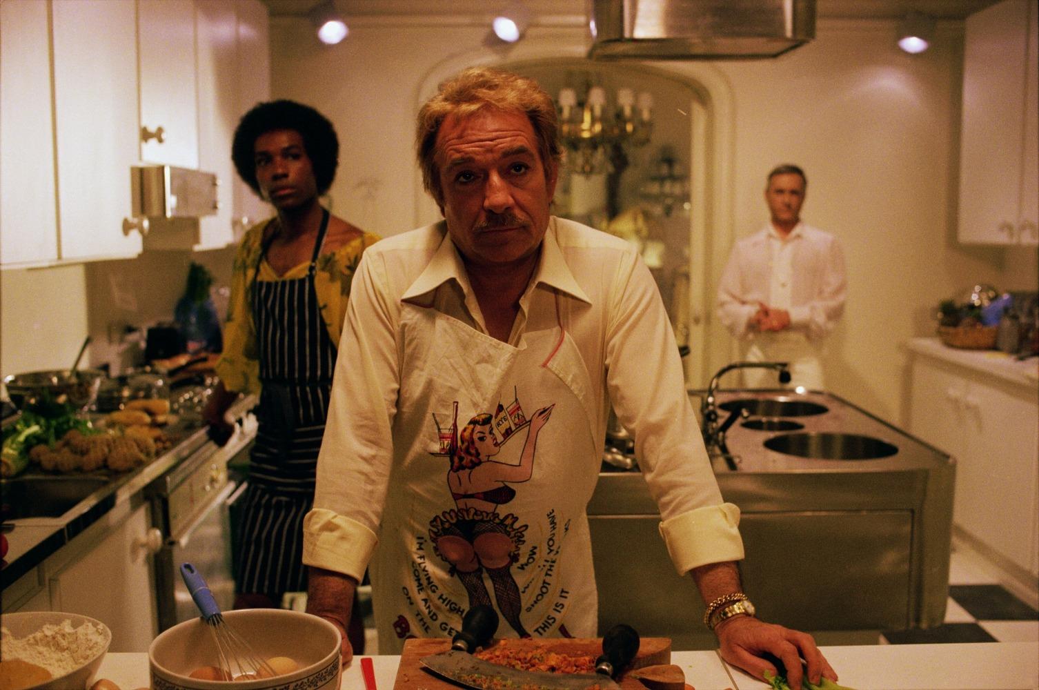 """Lo """"chef Ugo"""" nel film Il Vizietto"""