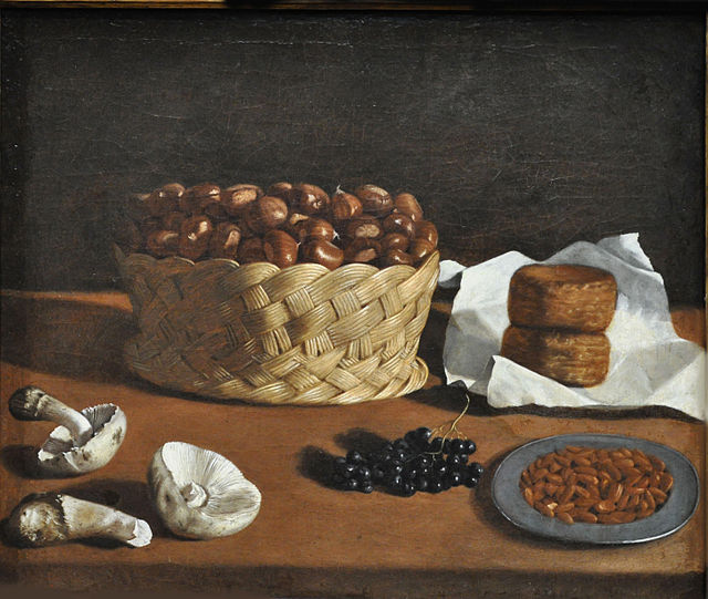 Natura morta (kitchen still life) di Paolo Antonio Barbieri, 1640