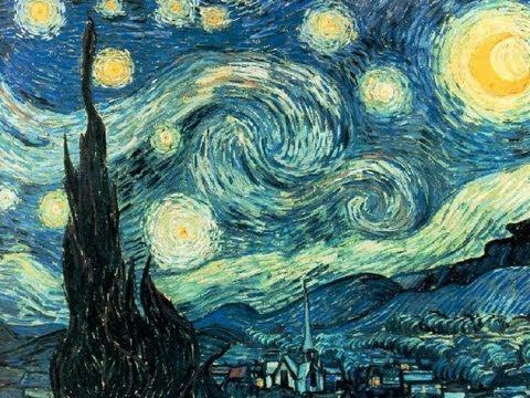 Notte stellata. Voncent Van Gogh, 1889