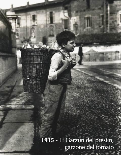 Anche il lavoro minorile era una realtà piuttosto diffusa fino alla metà dello scorso secolo.