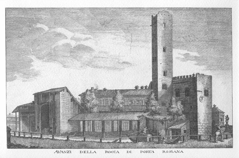 l'ingresso medioevale a Porta Romana