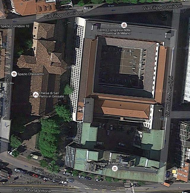 S. Pietro in Gessate in Corso di Porta Vittoria