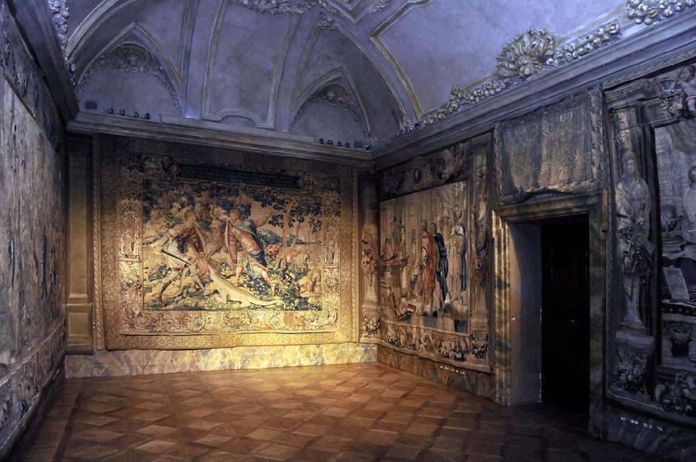 Sala degli Arazzi (foto da Repubblica.it)