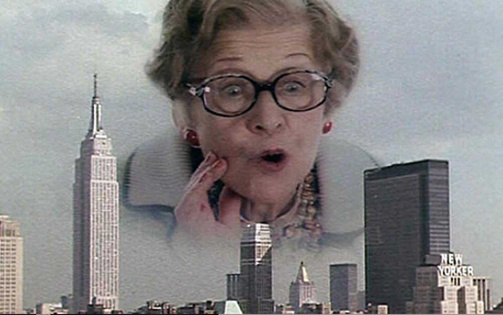 La Jewish mother di Woody Allen scompare per riapparire nel cielo di NYC spettagolando su di lui... Un grande film, New York Stories!