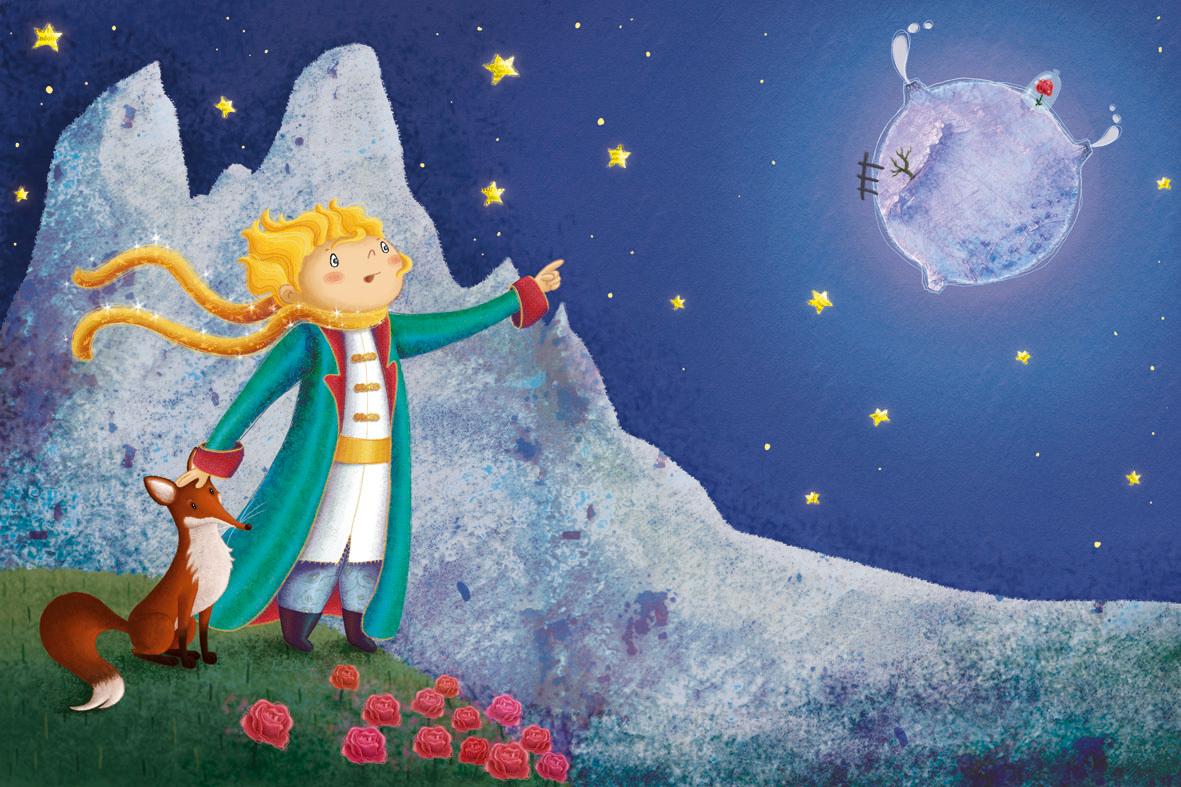Illustrazione de Il Piccolo Principe (da terraetlibertà.it)