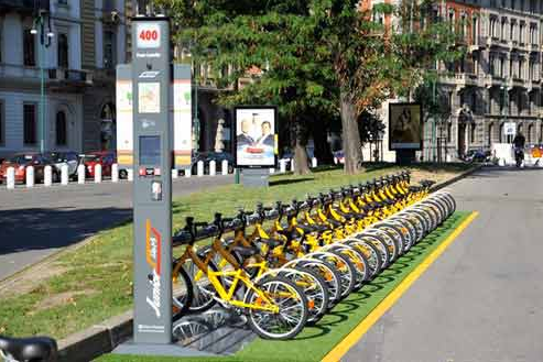 Il Junior BikeMI, la versione baby di quella per i più grandi (photo e articolo: Milanoperibambini.it)