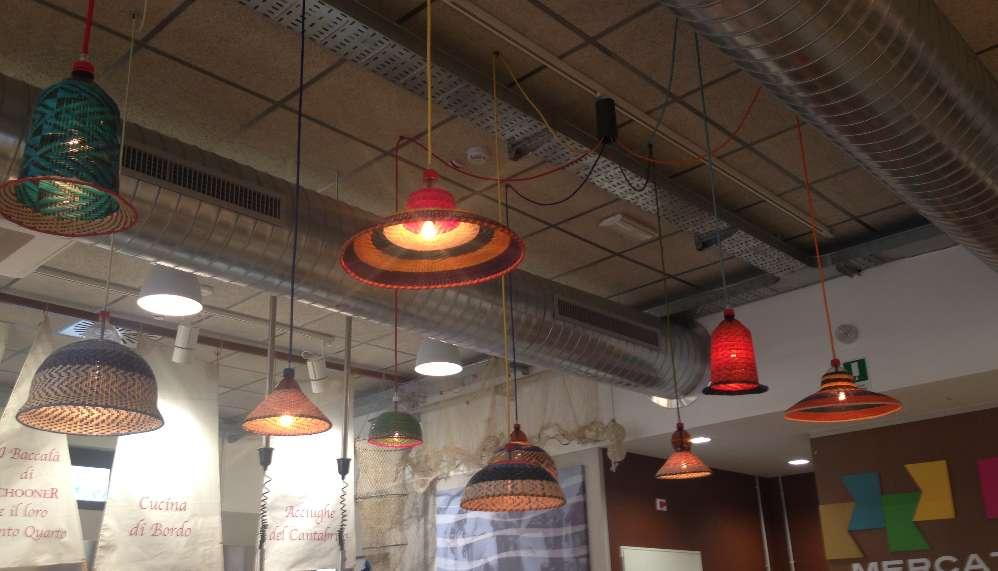 I lampadari variopinti