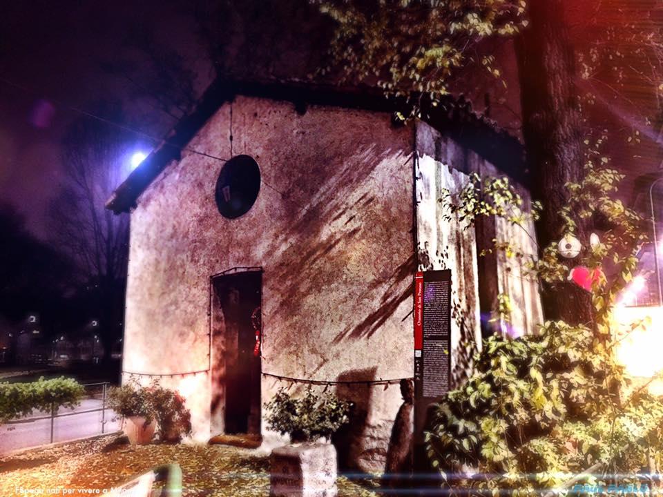 La piccola chiesetta di S. Protaso al Lorenteggio come si presentava qualche tempo fa