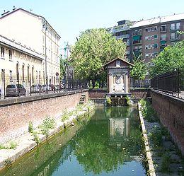 La conca di Viarenna in Conca del Naviglio. Com'è oggi.