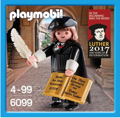 Il nuovissimo personaggio di Martin Lutero prodotto da Playmobil