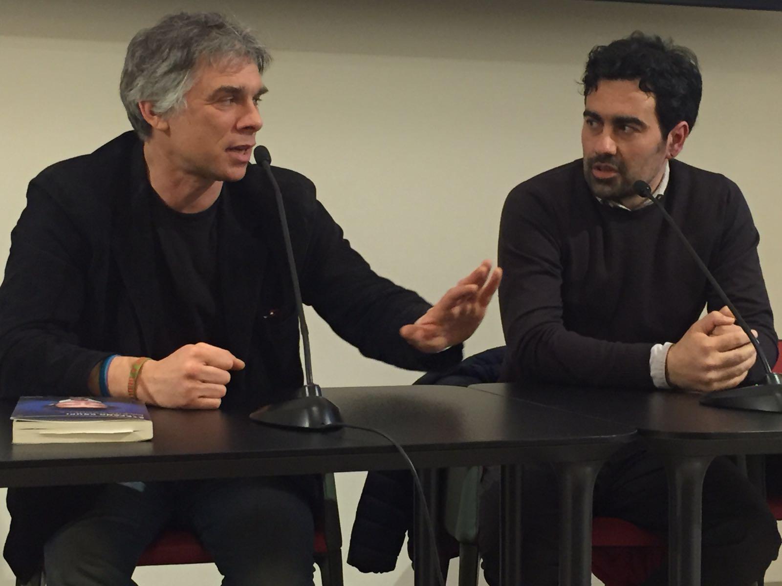 Paolo Foschini del Corriere ieri sera ha presentato il libro di Crupi