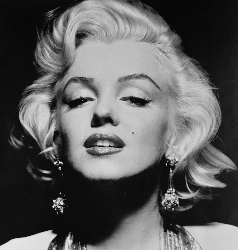 La spledida, platinatissima Marilyn