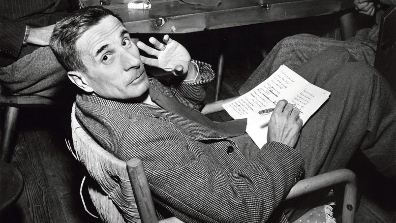 Lo scrittore e giornalista Dino Buzzati