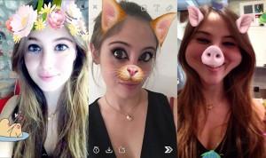 Con Snapchat si possono usare filtri e personalizzare foto e video... anche le follie si cancellano in uno snap!
