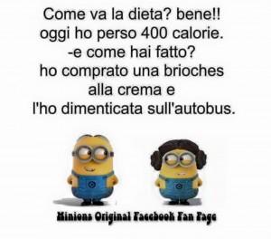 Anche i mitici Minions parlano di diete!