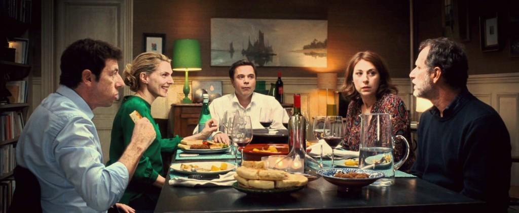"""Un'immagine della famosa commedia francese """"Cena tra amici"""""""