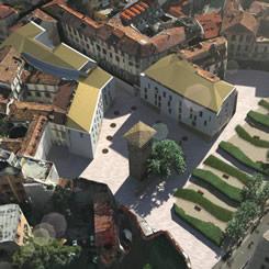 Ecco come vine presentata l'area riqualificata sul sito http://www.palazzogorani.it