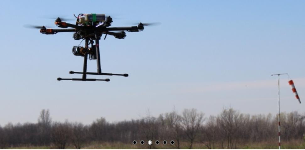 Un'altra immagine di udrone.it che rispecchia l'idea che si ha d'aabitudine rispetto all'utilizzo dei droni