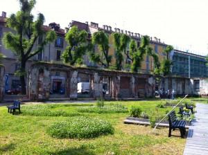 Giardino Lea Garofalo in Via Montello (foto i luoghi del cuore.it)