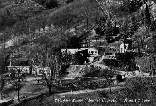 Villaggio Cagnola - dal sito su Sergio Rossi