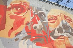 """Il murale """"Mamì"""" (foto Urbanfile.it)"""