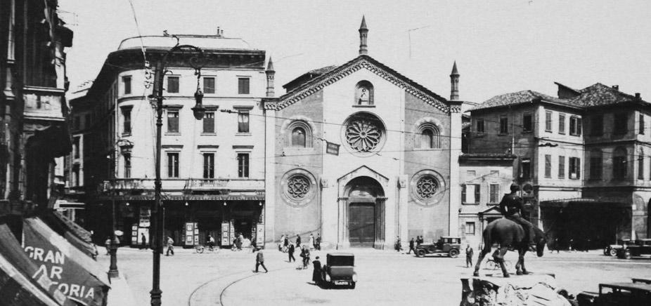 L'antica Chiesa di San Giovanni in Conca in Piazza Missori