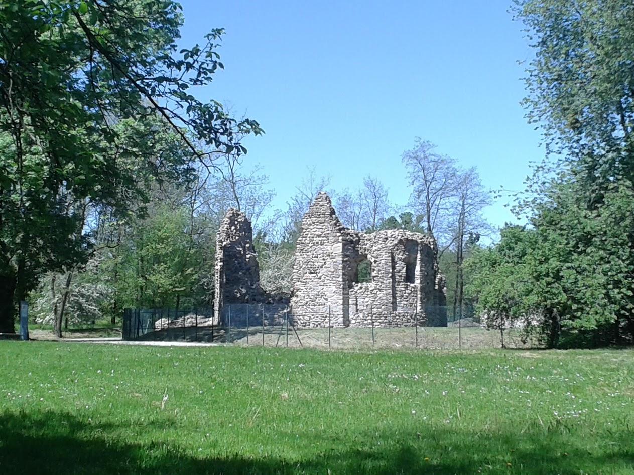 Resti della chiesa di S. Paolo (foto di Robert Ribaudo)
