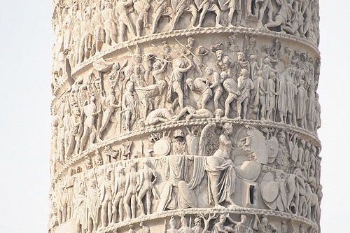 Particolare della Colonna Traiana