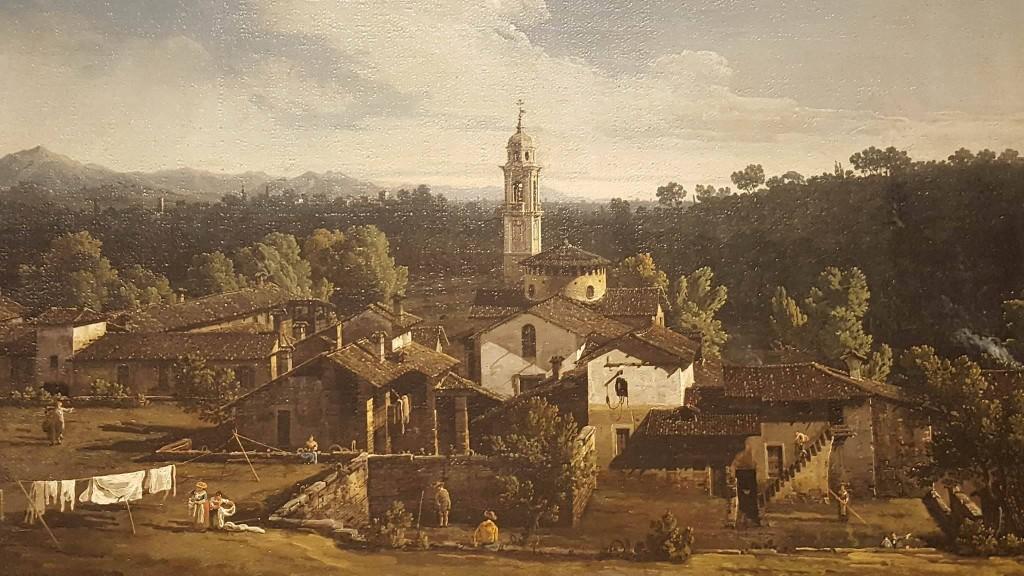 Il Villaggio di Gazzada, Lombardia, 1744