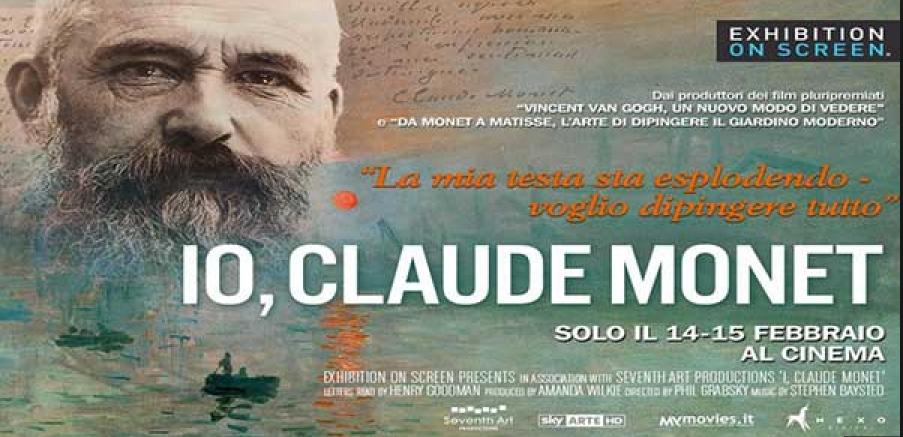 Un bel docu-film sul grande impressionista da godersi al cinema proprio solo nelle serate del 14 e 15 febbraio