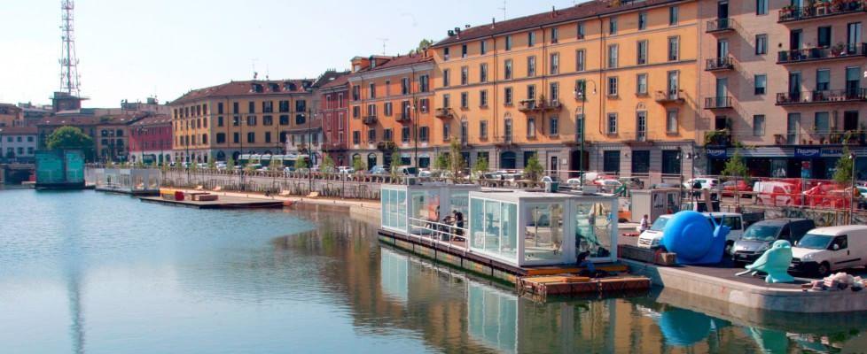 La darsena oggi (foto Repubblica.it)