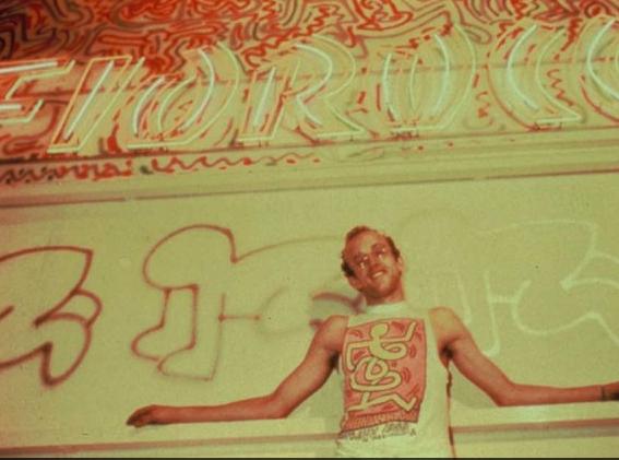 i graffiti firmati da Keith Haring per Fiorucci