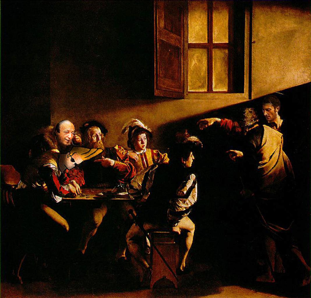 Vocazione di S. Matteo di Caravaggio