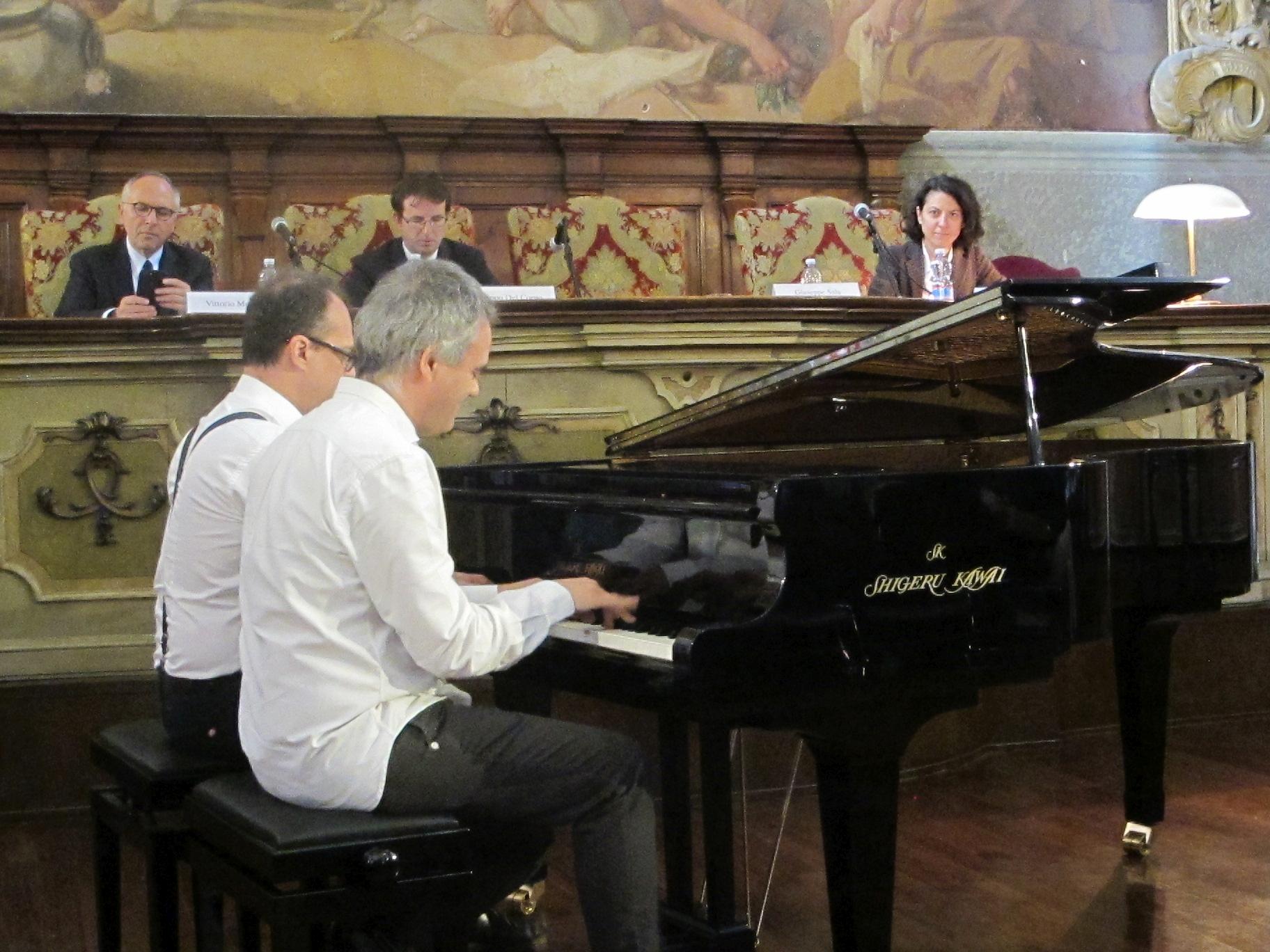 i Pianisti Grecchi e Longo © Nicolò Canziani