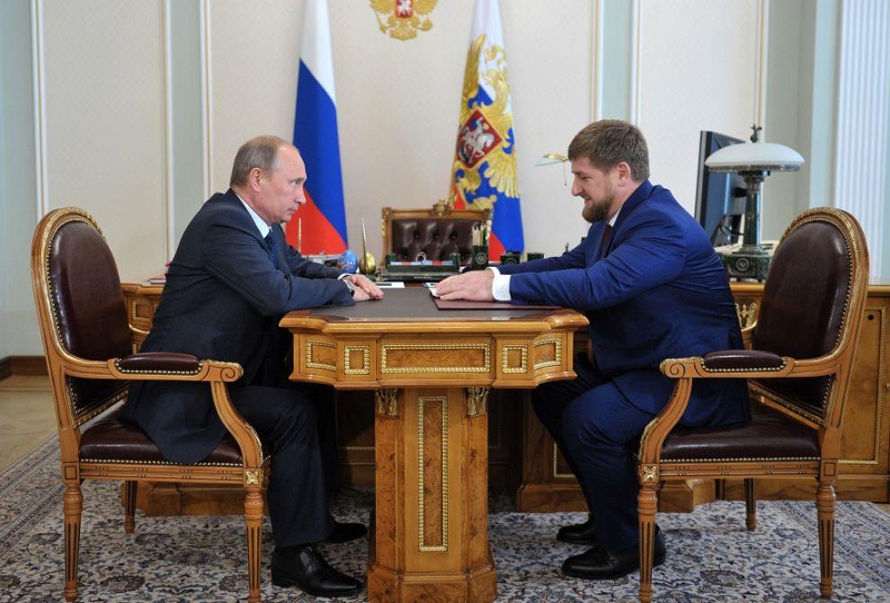 Putin e Kadirov