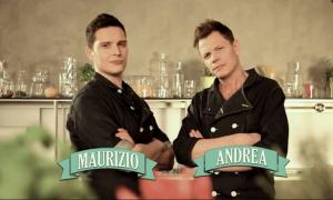"""I due ex concorrenti di Masterchef Italia, testimonial di questa """"operazione hamburgerie gourmet"""""""