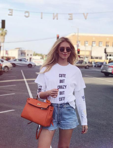 La regina della rete, la Fashion blogger Chiara Ferragni, nota anche per la liason con Fedez
