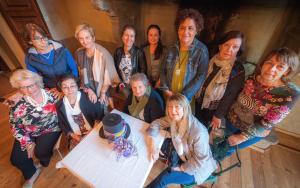Il Gruppo Donne Patchwork dell'Associazione Roccabrivio