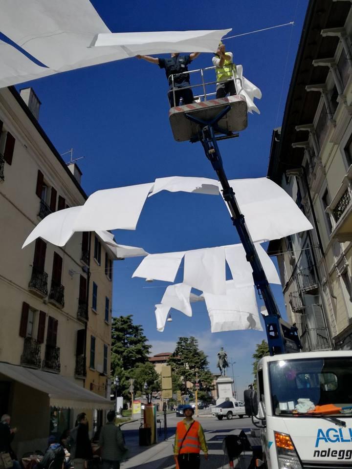 Work in progress in vista dell'esposizione! © Giuliano Cardella