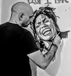 L'artista al lavoro