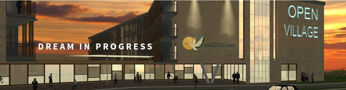 Un render che illustra il futuro, importante progetto della Fondazione: l'Open Village a Monza