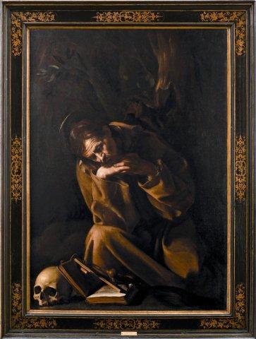 S. Francesco in meditazione