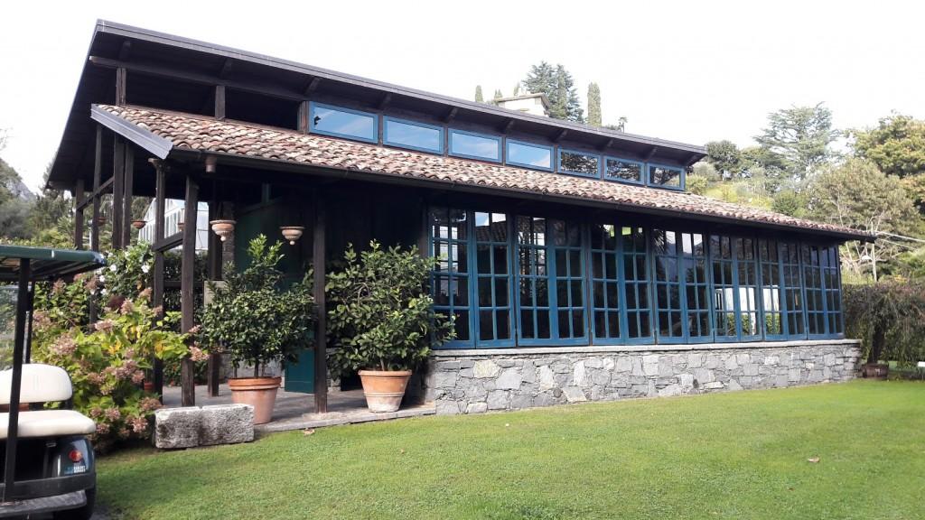 L'edificio della vecchia limonaia, destinato a museo degli attrezzi agricoli (foto di Robert Ribaudo)
