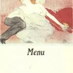 T. L. menu 6