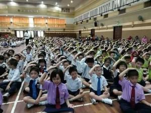 Diffusione di Sahaja Yoga nelle scuole